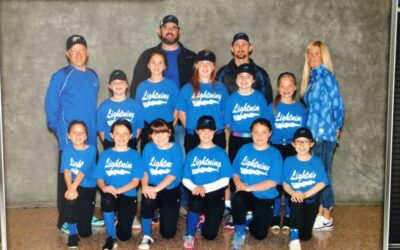 Back Mountain Little League Team Lightning