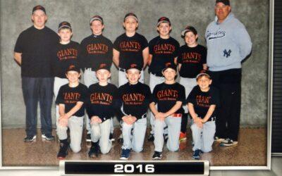 Back Mountain Little League Giants